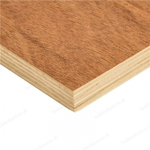 2440X1220X12MM EXTERIOR CHINESE HARDWOOD T/O PLYWOOD WBP