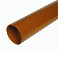 HUNT 110MM U/G DRAIN PIPE 6M P/E TCOT DS544