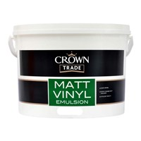 CROWN TRADE 7.5L MATT VINYL EMULSION