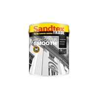 SANDTEX TRADE MASONRY PAINT  5 LTR SMOOTH - BRILLIANT WHITE
