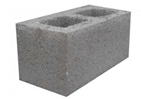 SQ M  DENSE AGG BLOCK HOLLOW       215MM COL/DEL