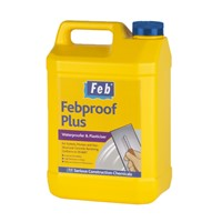 5  LITRE FEBPROOF PLUS WATERPROOFER PLASTICISER