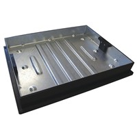 GALVANISED MANHOLE C&F BLOCK PAVING 600X450 10T GPW CD790R/80