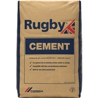 25KG BAG RUGBY CEMENT          (PAPER)     56
