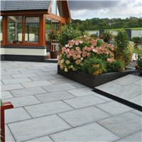 900X600MM INDIAN SANDSTONE LIGHT GREY      (P/S) 01004004